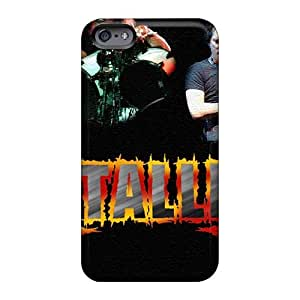 Best Hard Cell-phone Case For Iphone 6 With Support Your Personal Customized Lifelike Metallica Image VIVIENRowland