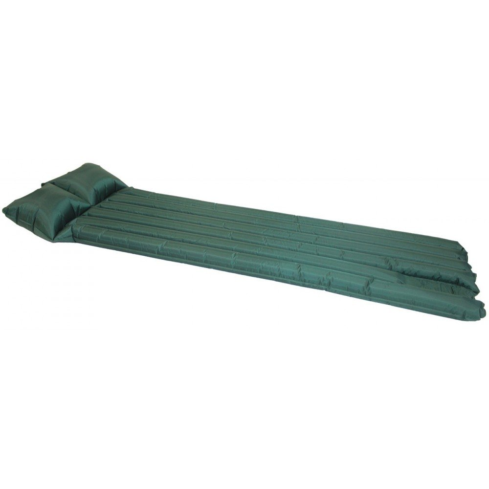 pillow Yellowstone Reed Air Bed 185 x 70cm Camping or Festivals 6 tubes Blue