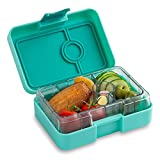YUMBOX MiniSnack Leakproof Snack Box (Surf Green), mini, minisnack, leakproof, reusable meals, healthy eating, healthy snacks, kids lunch daycare, snack box, bento, bento box, divided container port