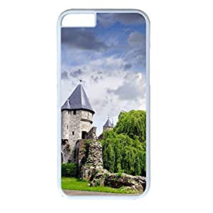 "Iphone 6 Case,Hard PC Iphone 6 Protective Case (white) for Ultimate Protect iphone 6 (4.7"") with Old city wall"