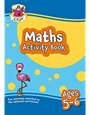 New Maths Activity Book for Ages 5-6: Perfect for Catch-Up and Home Learning (CGP Home Learning)