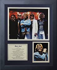 Legends Never Die Bon Jovi Framed Photo Collage, 11 x 14-Inch
