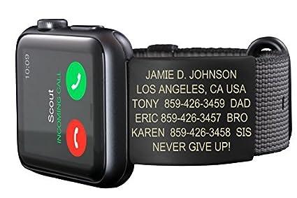Buy Road ID for Apple Watch - Woven Nylon 42mm - Apple Watch