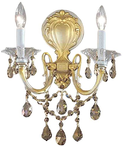 Classic Lighting 57002 CHP SGT Via Venteo, Crystal, Sconce/WallBracket, Champagne - Pearl Via Champagne Venteo