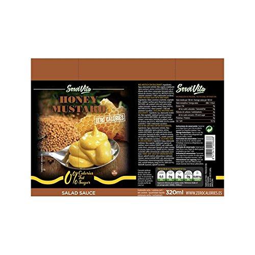 Salsa Mostaza y miel - 320 ml con todo el sabor y cero calorías: Amazon.es: Salud y cuidado personal