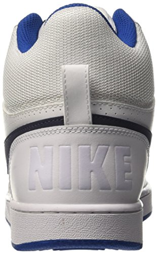 Jay White Sneaker Nike Uomo Blue Collo Blue Alto Court Thunder a Bianco Borough Mid qqxOZzf