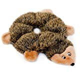 Image of ZippyPaws - Loopy Hedgehog No Stuffing Squeaky Plush Dog Toy - For Small and Medium Dogs