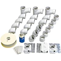 NuTone Central Vacuum 330 & CI335 Inlet Rough-In Kit, 3-Inlets (CI3303RK)