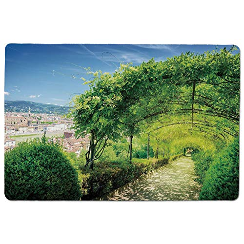(SCOCICI Gaming Speed Version Medium Cloth Mouse Mat Boboli Gardens in Florence Italy Famous Natural Landmark Tourist Attraction Mousepad for Home and Office Not Fad Locking Edge)