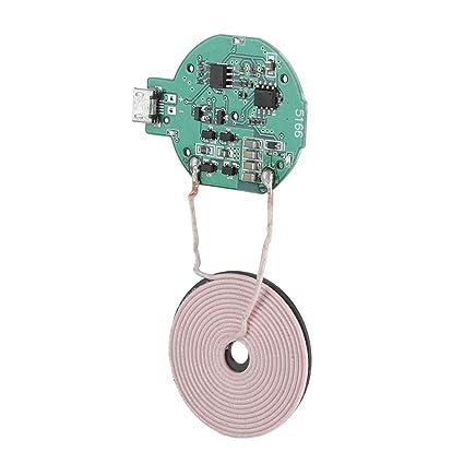 Amazon com: Bewinner Mini QI Wireless Charger Transmitter Module