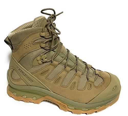 Salomon Men's Forces Quest 4D Forces Tactical Boots, Black/Black, Size 10.5 US
