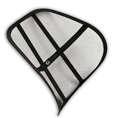 Zone-Tech-Mesh-Hollow-Car-Auto-Chair-Seat-Premium-Quality-Black-Hollow-Car-Auto-Chair-Seat-Back-Cushion-Home-Office-Waist-Lumbar-Support