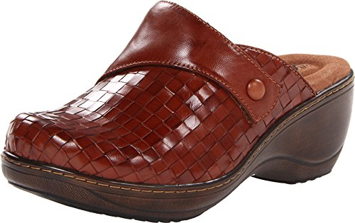 SoftWalk Women's Memphis Rust Burnished Veg Kid Leather 11 N