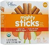 Plum Organics Tots Mighty Sticks - Apple Carrot - 2.1 oz