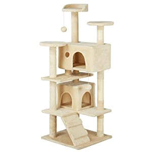 Yaheetech Cat Kitten Tree Condo Furniture