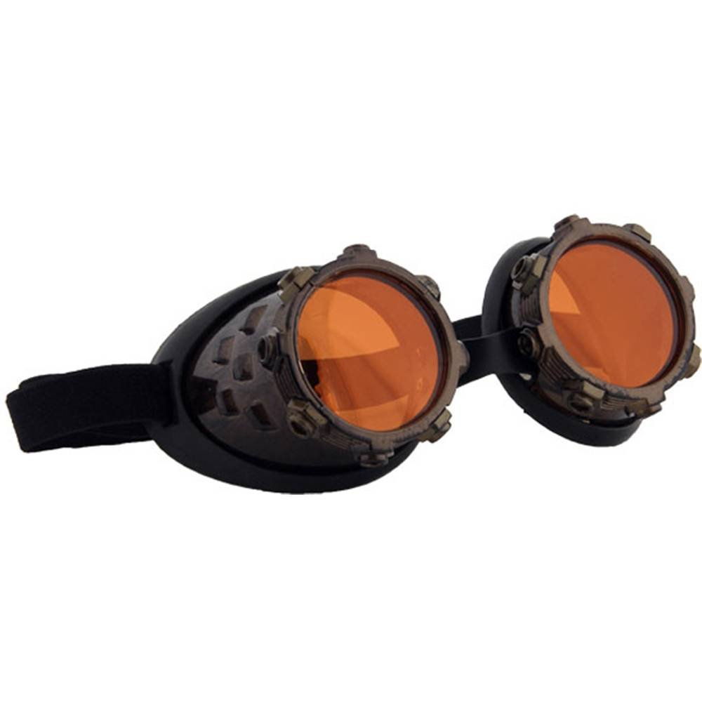 301231 Standard elope Cyber Steam Goggles Gd//Or