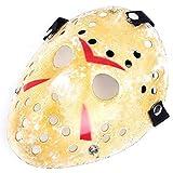 Mimgo Store Friday The 13th Horror Hockey Jason Vs. Freddy Mask Halloween Costume Prop