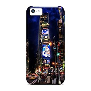 Anti-scratch And Shatterproof Times Square Night Phone Cases For Iphone 5c/ High Quality Cases