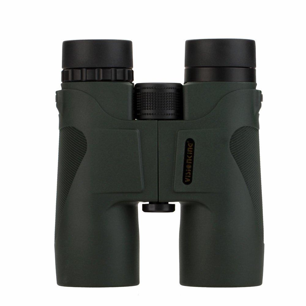 10 x 42アウトドアキャンプ狩猟屋根双眼望遠鏡フィールドスコープ双眼鏡Professional倍率望遠鏡 – Army Green B01N8PBFB8