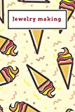 Jewelry making: Funny Red and Yellow Icecream