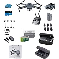 DJI Mavic Pro Collapsible Quadcopter Starters Bundle with Case