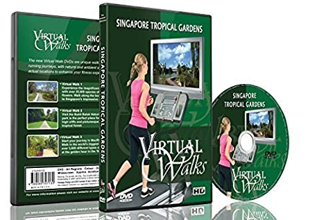 Virtual Walks - Tropical Gardens for indoor walking, treadmill and cycling workouts (Virtual Fitness Dvds)