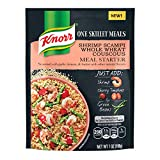 Knorr One Skillet Meals Meal Starter, Shrimp Scampi Whole Wheat Couscous, 7 oz