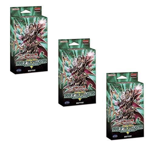Konami Yu-Gi-Oh! TCG: Order of The Spellcasters Structure Decks (3 Decks) ()
