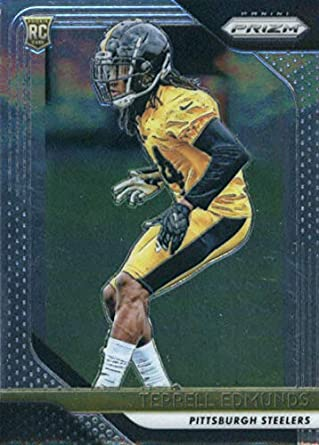 2018 Panini Prizm Football  252 Terrell Edmunds Rookie RC Rookie Pittsburgh  Steelers Official NFL Trading 95df3e369