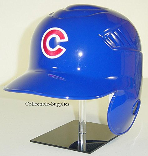 - Chicago Cubs MLB New Coolflo Style Official Authentic Batting Helmet (Home Helmet, Left Flap for Right Handed Batter)