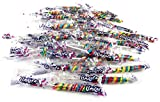 Mini Rainbow Unicorn Pops, 0.42 oz Packages in a Black Tie Box (Pack of 50)