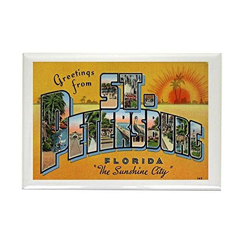 (CafePress St. Petersburg Postcard Rectangle Magnet Rectangle Magnet, 2