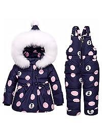 Acereima Children Warm Toddler Snowsuit Outerwear