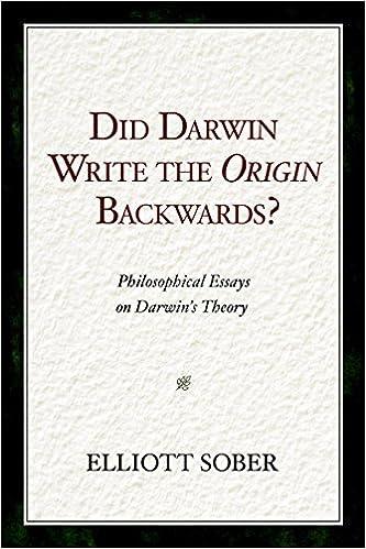 essay on darwinism