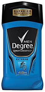 Degree Men Antiperspirant and Deodorant, Extreme 2.7 oz (Pack of 2)
