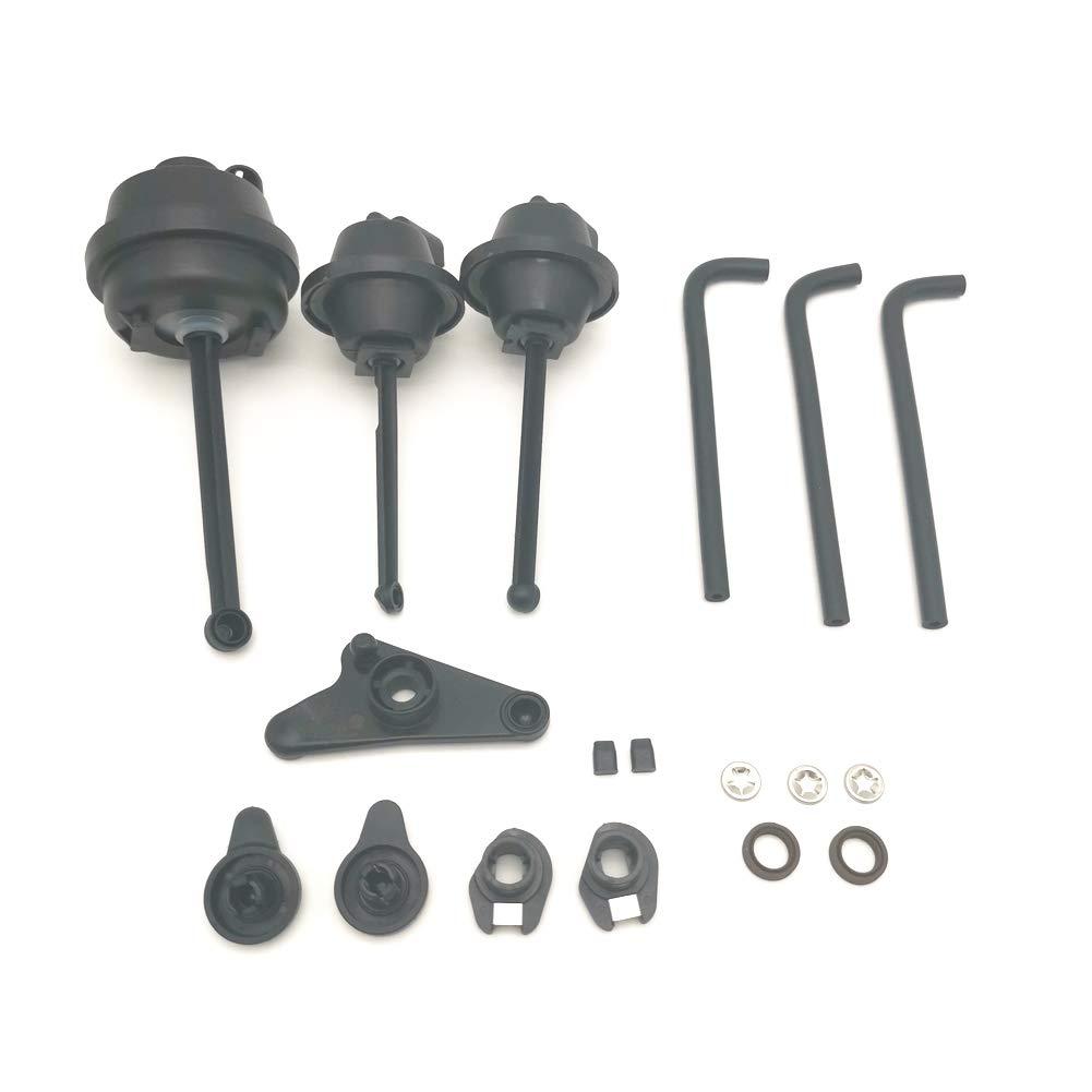 Cheriezing Intake Manifold Air Flap Repair Kit for Mercedes-Benz M272 C300  ML350 R350 SLK Engine Replace# 272 140 24 01