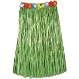 Beistle 50490-G Adult Artificial Grass Hula Skirt, 36 by 32-Inch