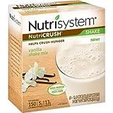 Nutrisystem NutriCRUSH Vanilla Shake Mix, 1.4 oz, 5 count, (Pack of 4)