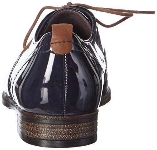 Jenny by ara Kingston - zapatos con cordones de material sintético mujer azul - Blau (blau,marrone -06)