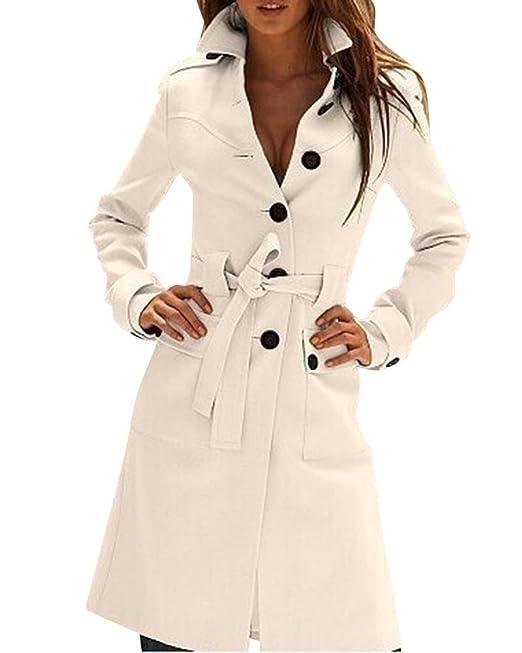 Acquista Cappotto Di Lana Trench Da Donna Nuovo Inverno 2018 Cappotto Invernale Lungo Cappotto Doppio Petto Cappotti Lunghi Le Donne Cappotto Plus