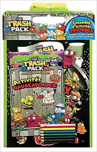 The Trash Pack : Ensemble dactivités immondes, avec un cahier à ...