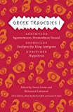img - for Greek Tragedies 1: Aeschylus: Agamemnon, Prometheus Bound; Sophocles: Oedipus the King, Antigone; Euripides: Hippolytus book / textbook / text book