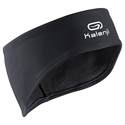 d388183f6625 Buy KALENJI RUNNING BLACK HEADBAND Online at Low Prices in India - Amazon.in