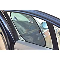 Car Sun Shade by NimNik Baby, 2-Pack, Black