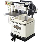 """Shop Fox W1742SW 3 hp 15"""" Planer with Spiral Cutter Head and Mobile Base"""