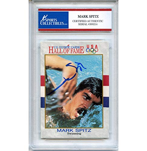 Mark Spitz Autographed Signed 1992 Olympics Trading Card - Certified Authentic