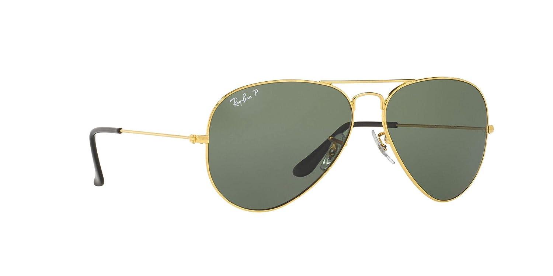 Buy Ray Ban Rb3025 Aviator Classic Polarized Unisex Sunglasses At Amazon In