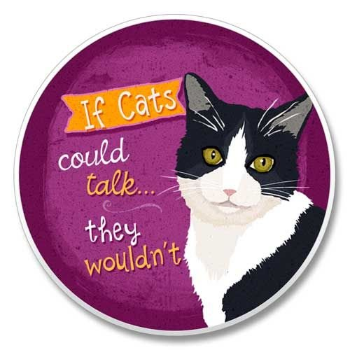 Tuxedo Cat - Auto Coaster ()