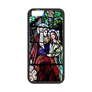 Classic Style Custom Silicone Hard Rubber Protector Case for iPhone6(4.7inch) - Jesus Love