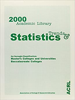 Book 2000 Academic Library Trends & Statisitcs;Carne by Bazillion (2000-05-30)